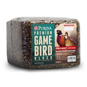 Purina® Premium Game Bird Block