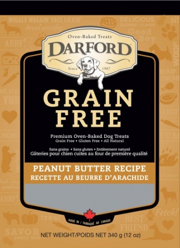 Darford Grain-free Peanut Butter Dog Treats