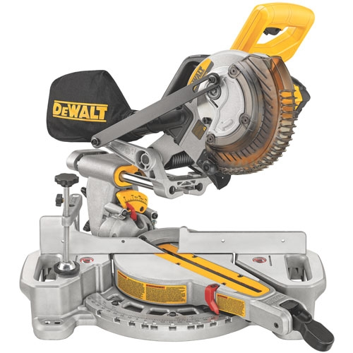 Sliding Compound Miter Saw - with Battery Charger