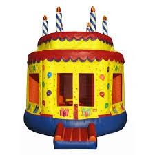 Inflatable Birthday Cake Bounce House