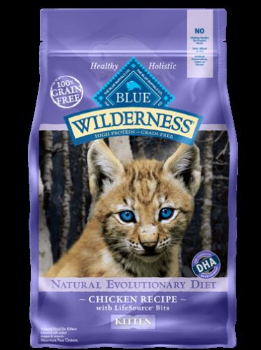 Blue Buffalo Wilderness Chicken Recipe Dry Kitten Food