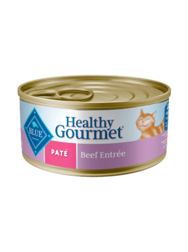 Blue Buffalo Healthy Gourmet Beef Pate Canned Cat Food