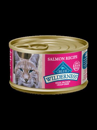 Blue Buffalo Wilderness Salmon Canned Cat Food