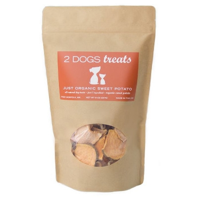 2 Dogs Treats LLC, Just Organic Sweet Potato Dog Treats
