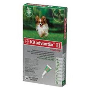 K9 advantix II-Small Dog