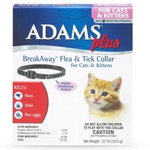 Adams™ Plus Breakaway® Flea & Tick Collar for Cats & Kittens