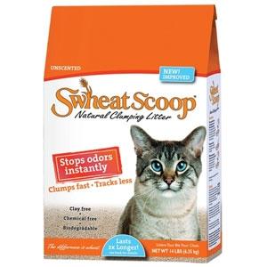 Swheat Scoop Original Formula Natural Clumping Cat Litter 14 lb
