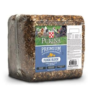 Purina® Premium Flock Block Supplement