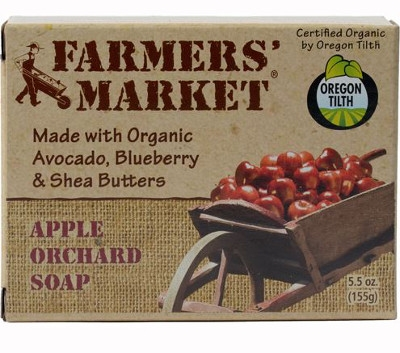 Beaumont Farmers' Market Organic Soaps, Assorted