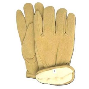 Boss Thinsulate Lined Split Deerskin Gloves Large