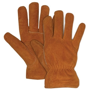 Boss Pile Lined Split Leather Glove