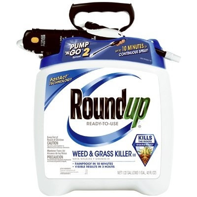 RoundUp Pump 'N Go Weed & Grass Killer, 1.33 Gallons