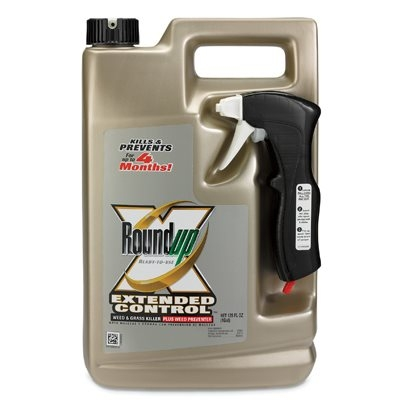 Roundup Weed & Grass Killer Extended Control, 1.5 Gallons