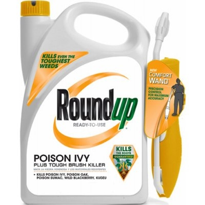 Roundup Poison Ivy Tough Brush Killer, 1.33 Gallons with Ready-to-Use Want Spray