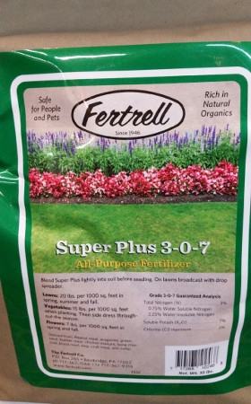 Fertrell Super Plus All-Purpose Fertilizer, 3-0-7, 10 lbs.