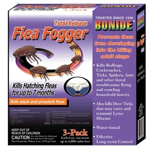Bonide Total Release Flea Fogger 6oz 3-pack