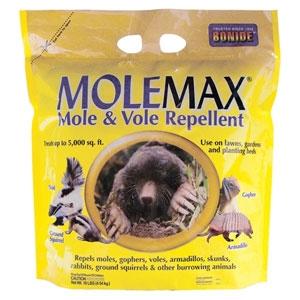 Bonide MoleMax Mole and Vole Repellent 10 lb