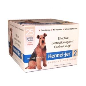 Kennel-Jec 2 Bordetella bronchiseptica Vaccine for Dogs