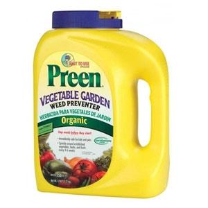 Preen Organic Vegetable Garden Weed Preventer 5lb