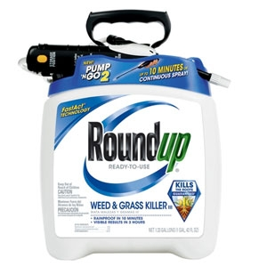 Roundup Weed & Grass Killer with Pump N Go Sprayer 1.33 gal