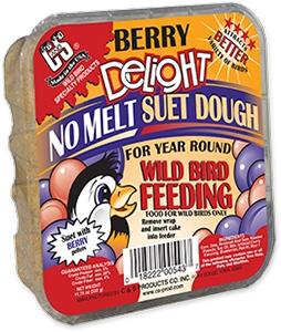 C&S Berry Delight No Melt Wild Bird Suet Dough