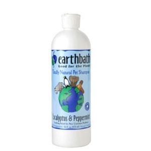 Earthbath Eucalyptus & Peppermint Shampoo for Pets