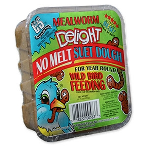 Mealworm Delight Suet Cake