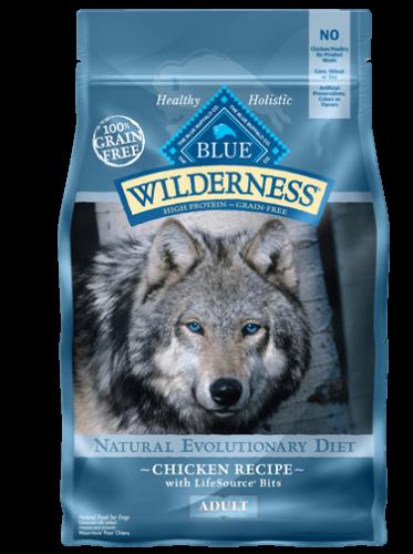 BLUE Wilderness® Chicken Dog Food - 24 lbs.