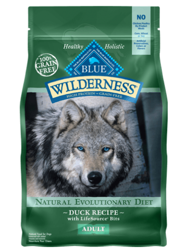 BLUE Wilderness® Duck Dog Food - 24 lbs.