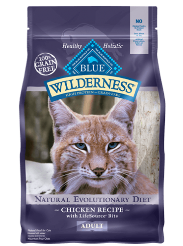 BLUE Wilderness® Chicken Recipe Cat Food - 6 lbs.