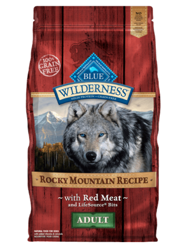 BLUE Wilderness® Rocky Mountain Recipe™ Red Meat Dog Food - 22 lbs.