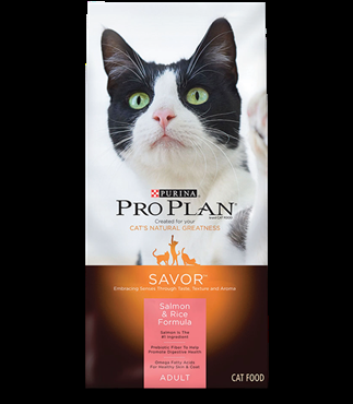 Purina Pro Plan Savor® Salmon & Rice Cat Food - 16 lbs.