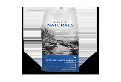 Diamond Naturals Beef Meal & Rice For Adult Dogs - 40 lbs.