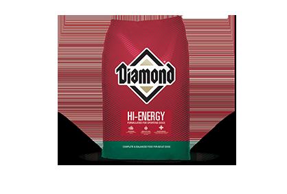 Diamond Hi-Energy Dog Food - 50 lbs
