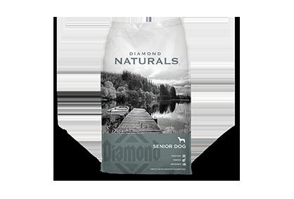 Diamond Naturals Senior 8+ Dog Food - 35 lbs