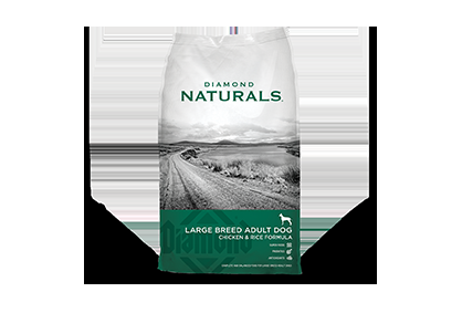 Diamond Naturals Large Breed Chicken & Rice Dog Food - 40 lbs.