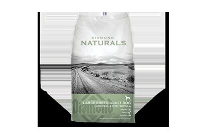 Diamond Naturals Large Breed Lamb & Rice Dog Food - 40 lbs.