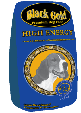 Black Gold® 24-20 High Energy Blend Dog Food - 50 lbs.