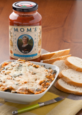 Moms Artichoke Heart and Asiago Cheese Pasta Sauce