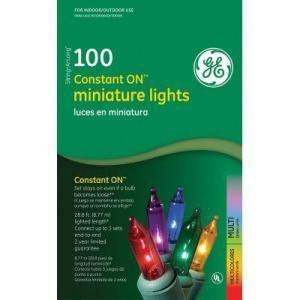 GE Constant-On Mini Lights