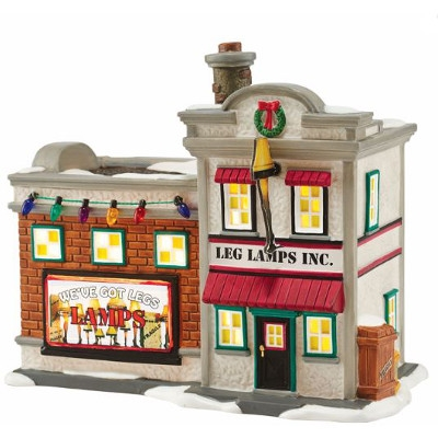 A Christmas Story Village: Leg Lamp Factory