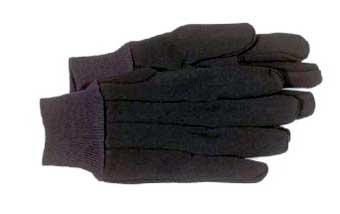 4020 Brown Jersey Glove - Large