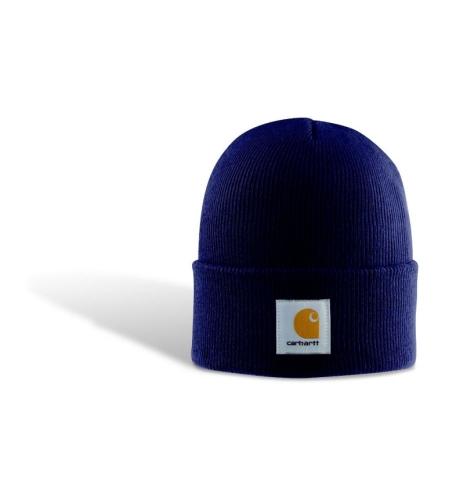 Carhartt Acrylic Beanie Hat - Purple