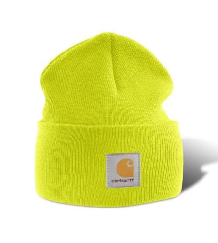 Carhartt Acrylic Beanie Hat - Bright Lime