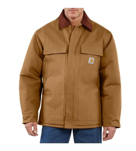 Carhartt Traditional Coat Duck Brown - 2XLarge