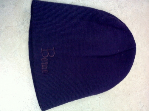 Ladies Solid Beanie Hat - Blue