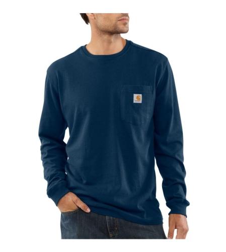 Long Sleeve T-Shirt - Navy - 2XLarge
