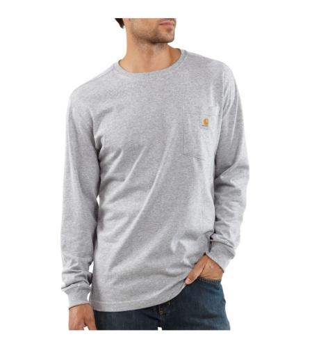 Long Sleeve T-Shirt - Grey - 2XLarge