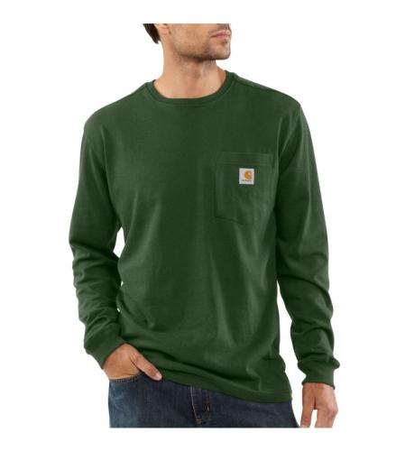 Long Sleeve T-Shirt - Hunter Green - 2XLarge