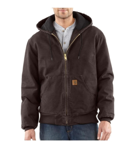 Sandstone Active Jacket Dark Brown - 4XLarge